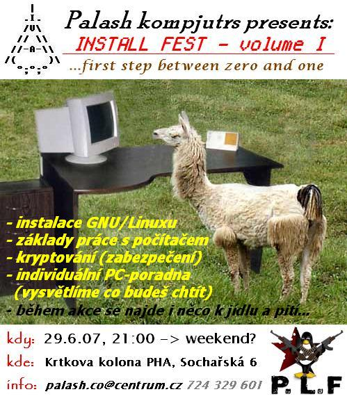 Workshop-Installfest